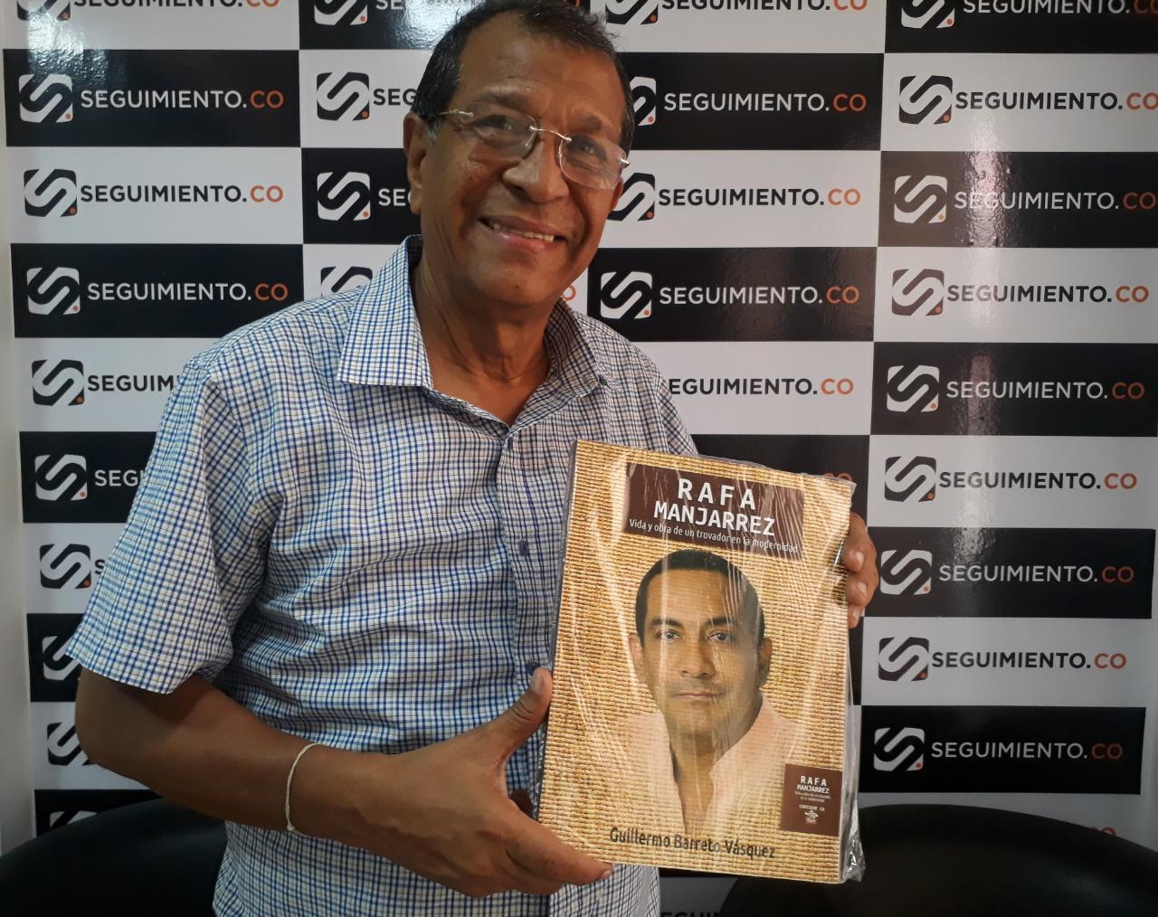 El escritor Guillermo Antonio Barreto Vásquez