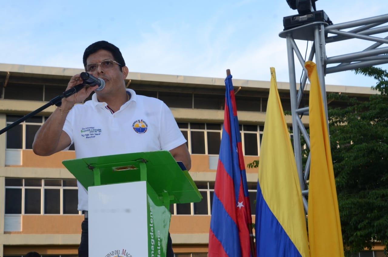 Rector de Unimagdalena, Pablo Vera.