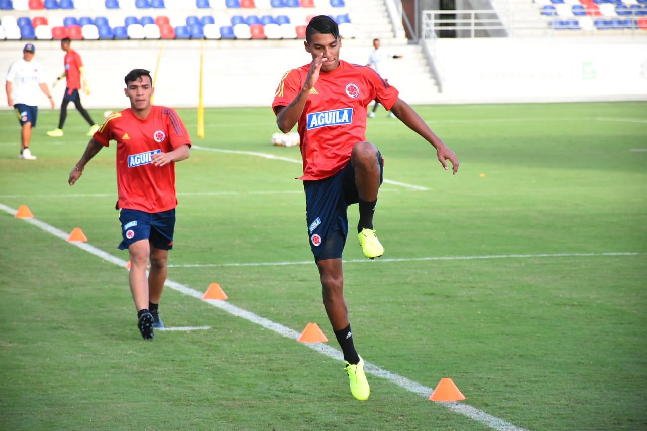 El delantero Ricardo Márquez y el lateral Gabriel Fuentes.