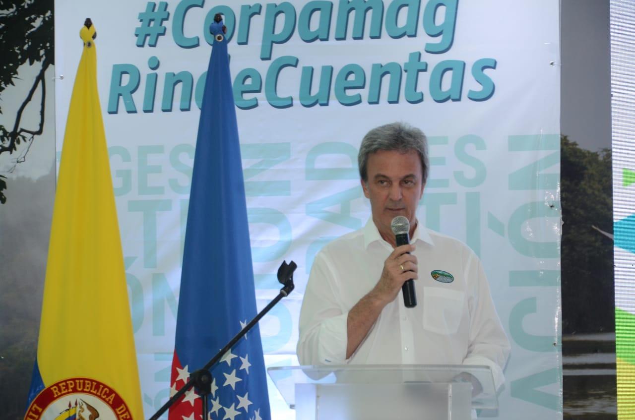 Carlos Francisco Diaz Granados, director de Corpamag