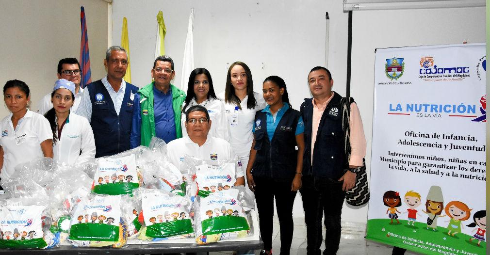 Programa de nutrición de la Gobernación del Magdalena y aliados
