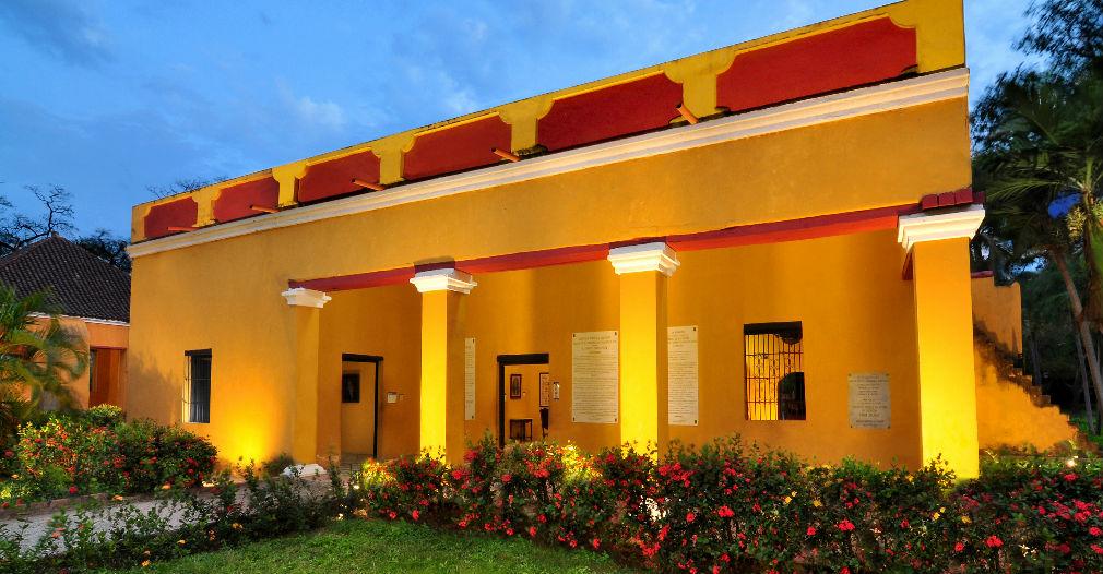 Casa principal de la Quinta de San Pedro Alejandrino