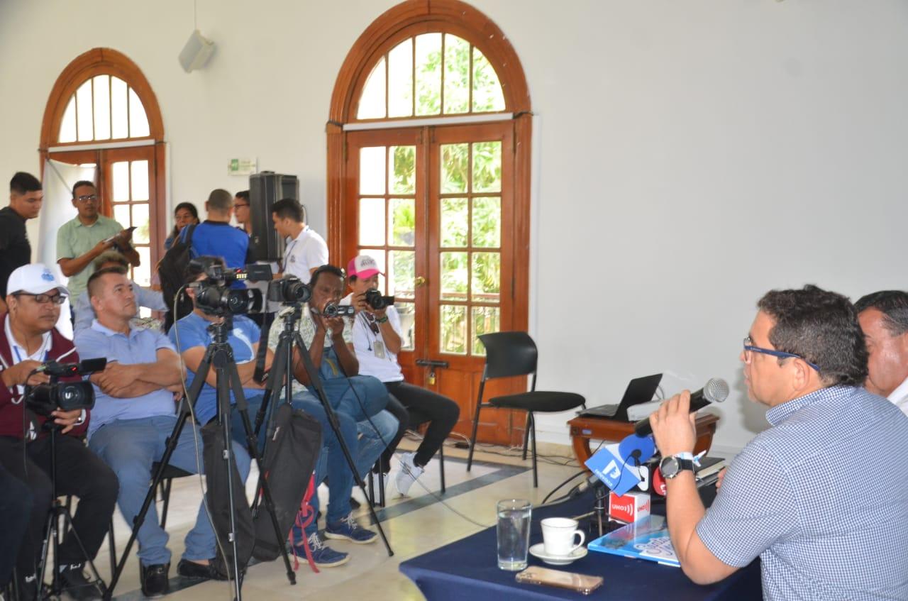 El mandatario distrital destacó el trabajo que vienen haciendo para ser sede de eventos internacionales.