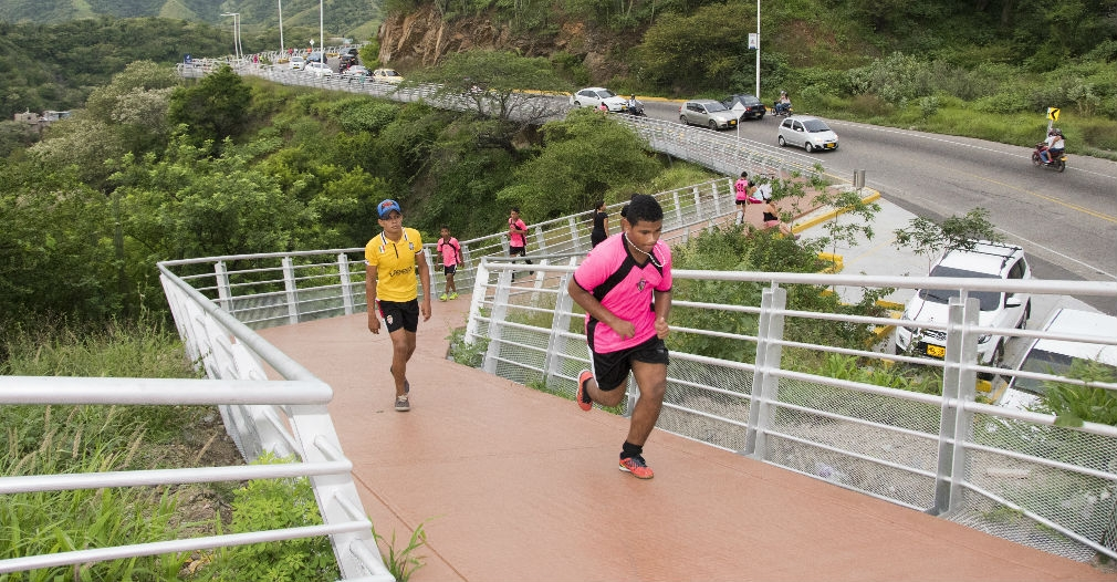 Sendero Peatonal y Deportivo del Ziruma