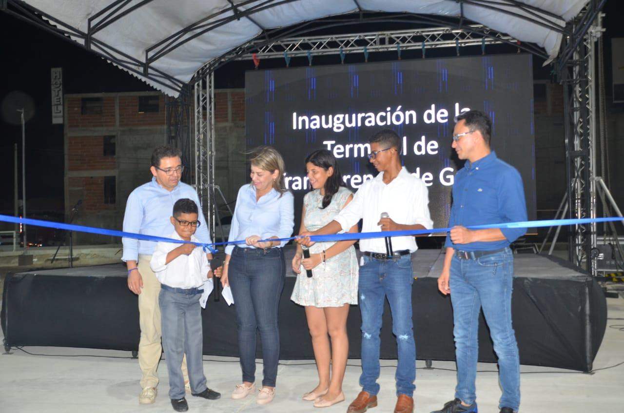 Inauguración de la Terminal de Transferencia de Gaira.