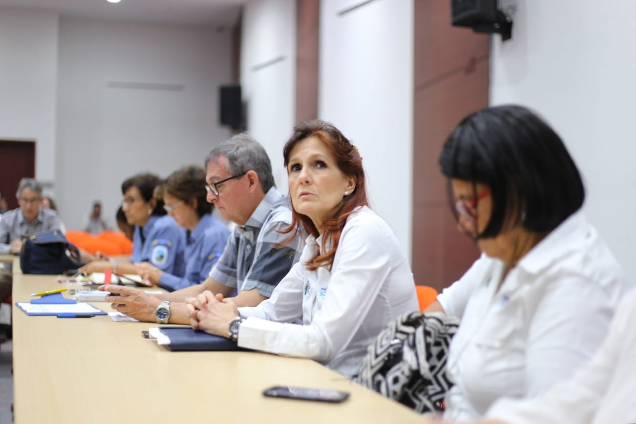 La Gobernadora participó de la III sesión del Comité de coordinación para la gestión integral de la Ciénaga Grande de Santa Marta.