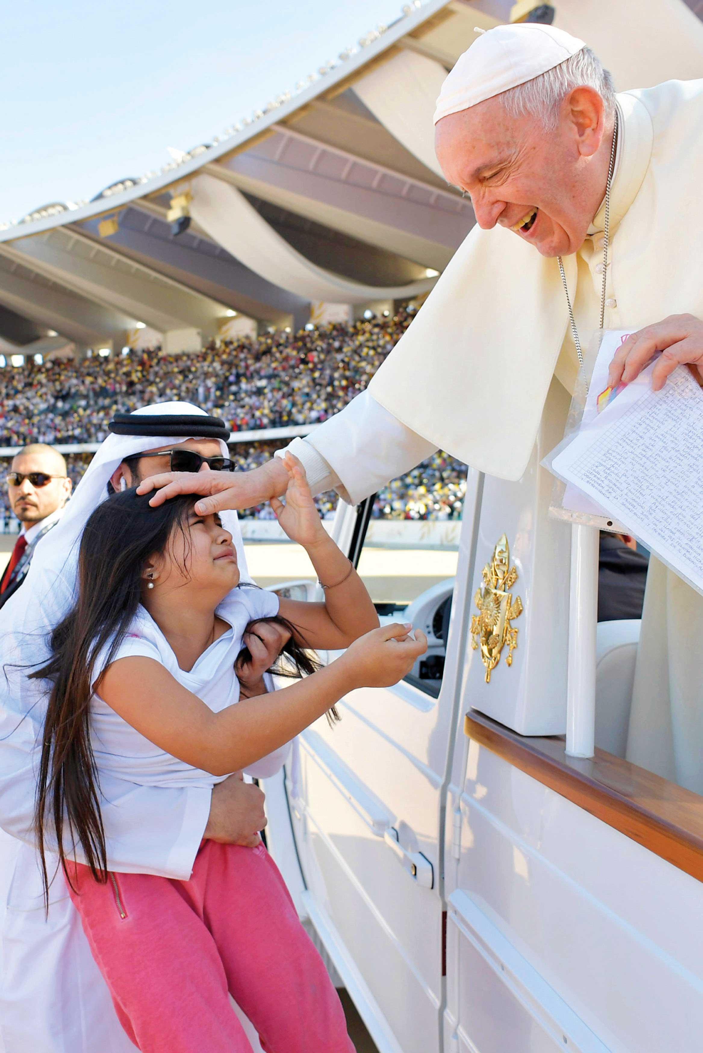 Gabriela y el papa Francisco