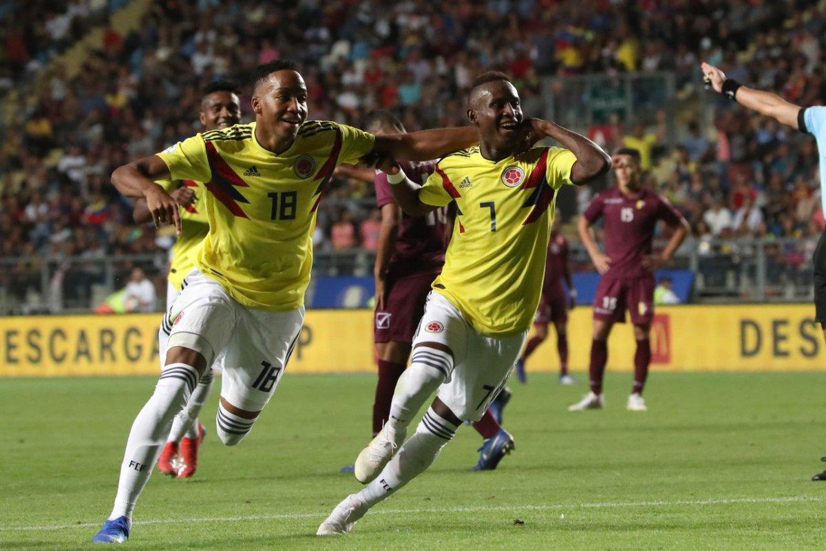 Colombia revivió luego de doblegar a Venezuela.
