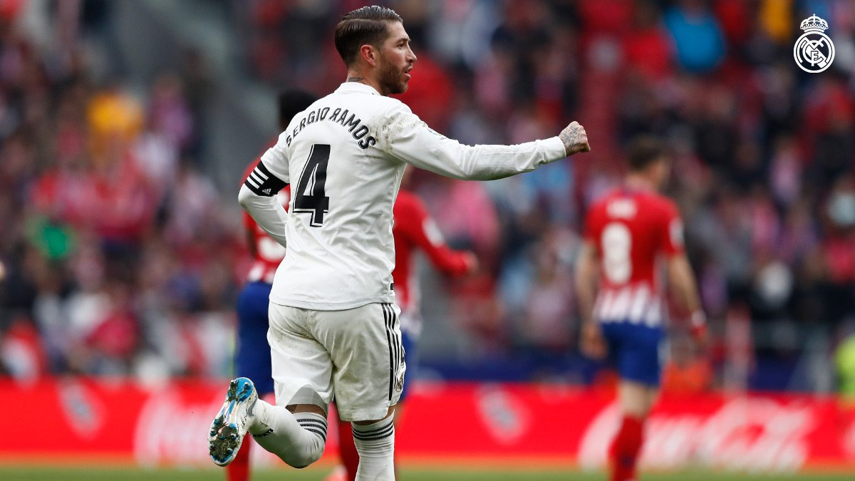 Ramos desde el punto penal marcó el segundo tanto.