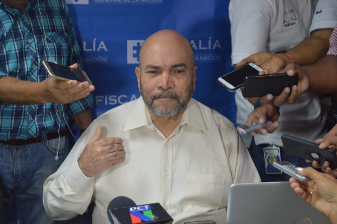 Vicente Guzmán, director seccional de Fiscalía, en rueda de prensa.