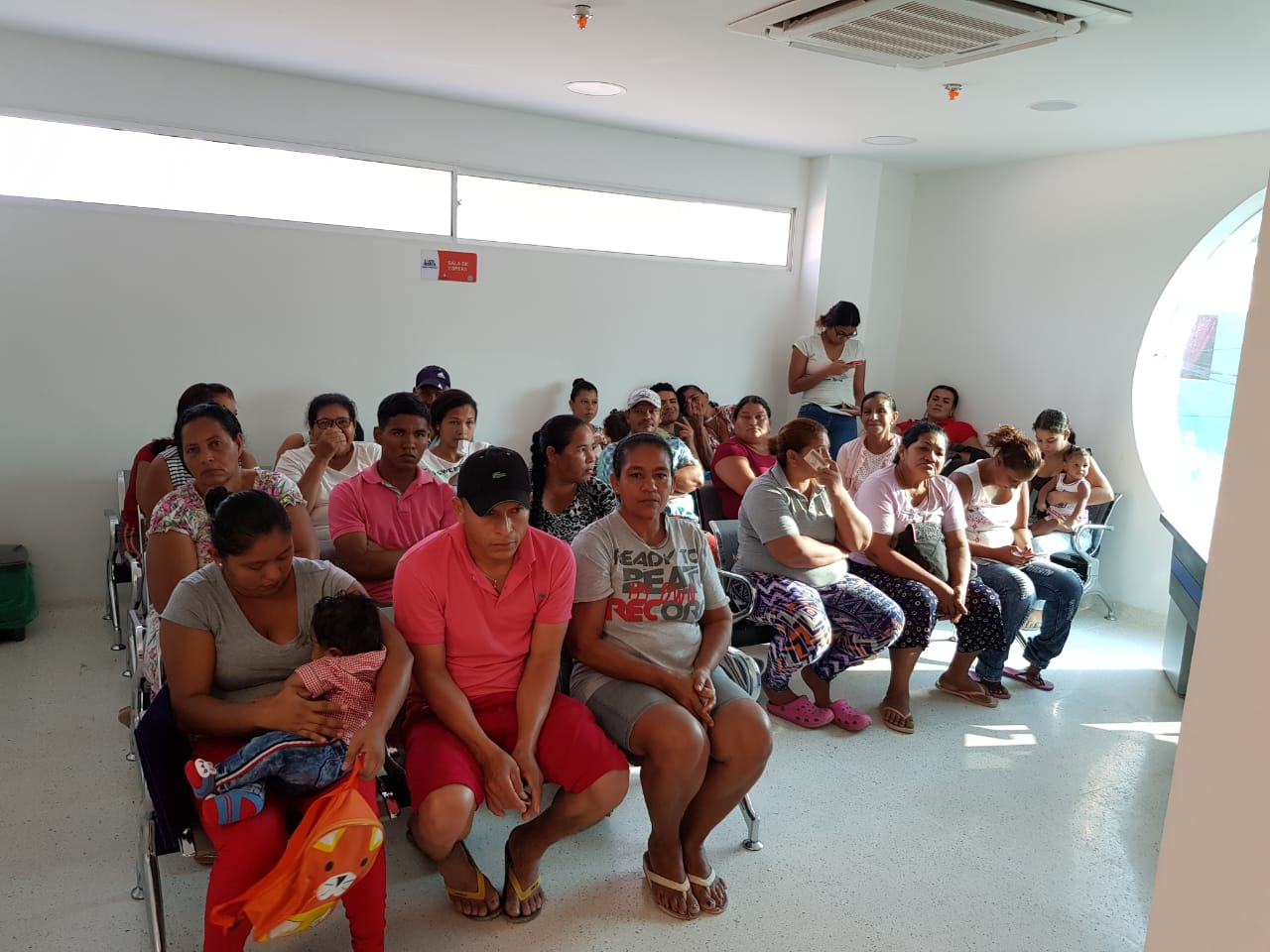 Centro de Salud en La Paz