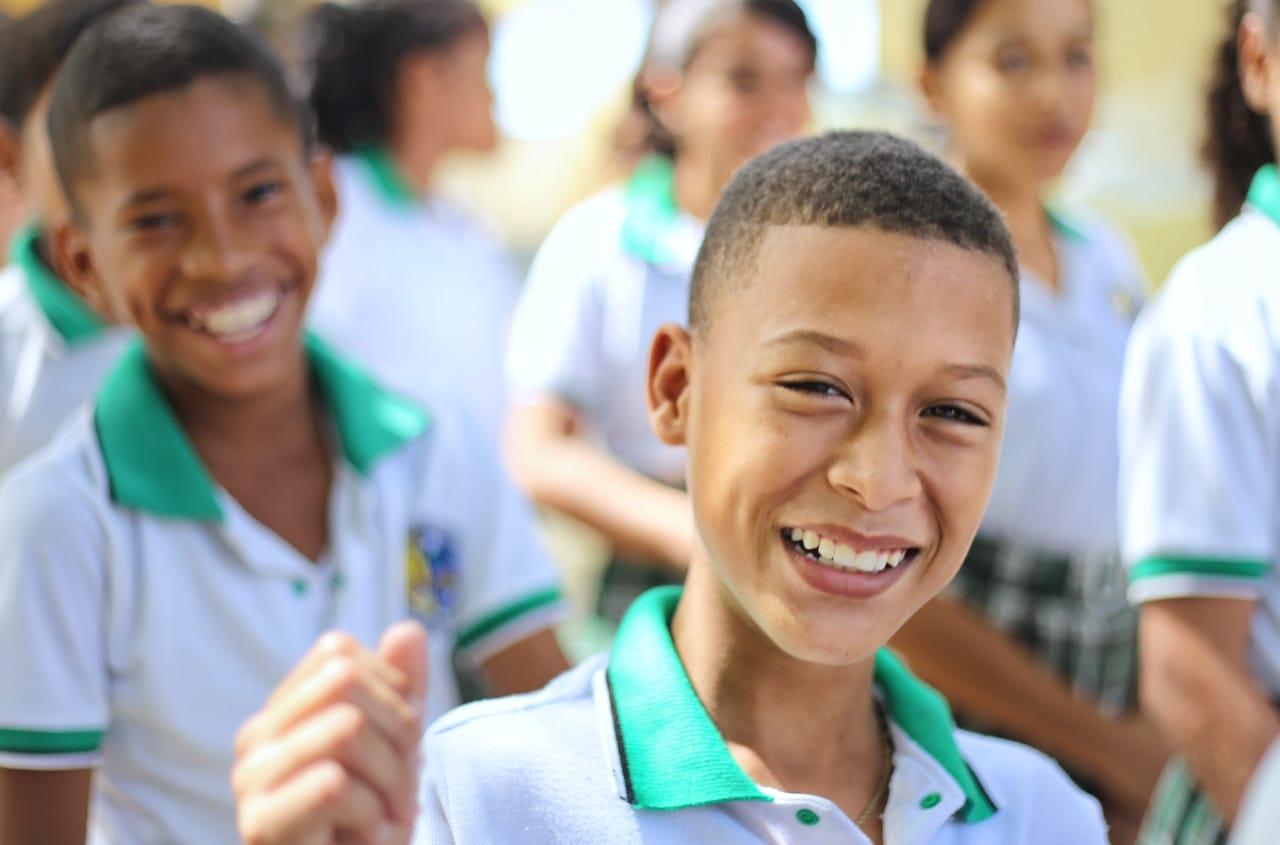 """La campaña """"Vamos pa' la escuela, busca, garantizar a los niños, niñas, adolescentes y jóvenes, una educación de calidad"""