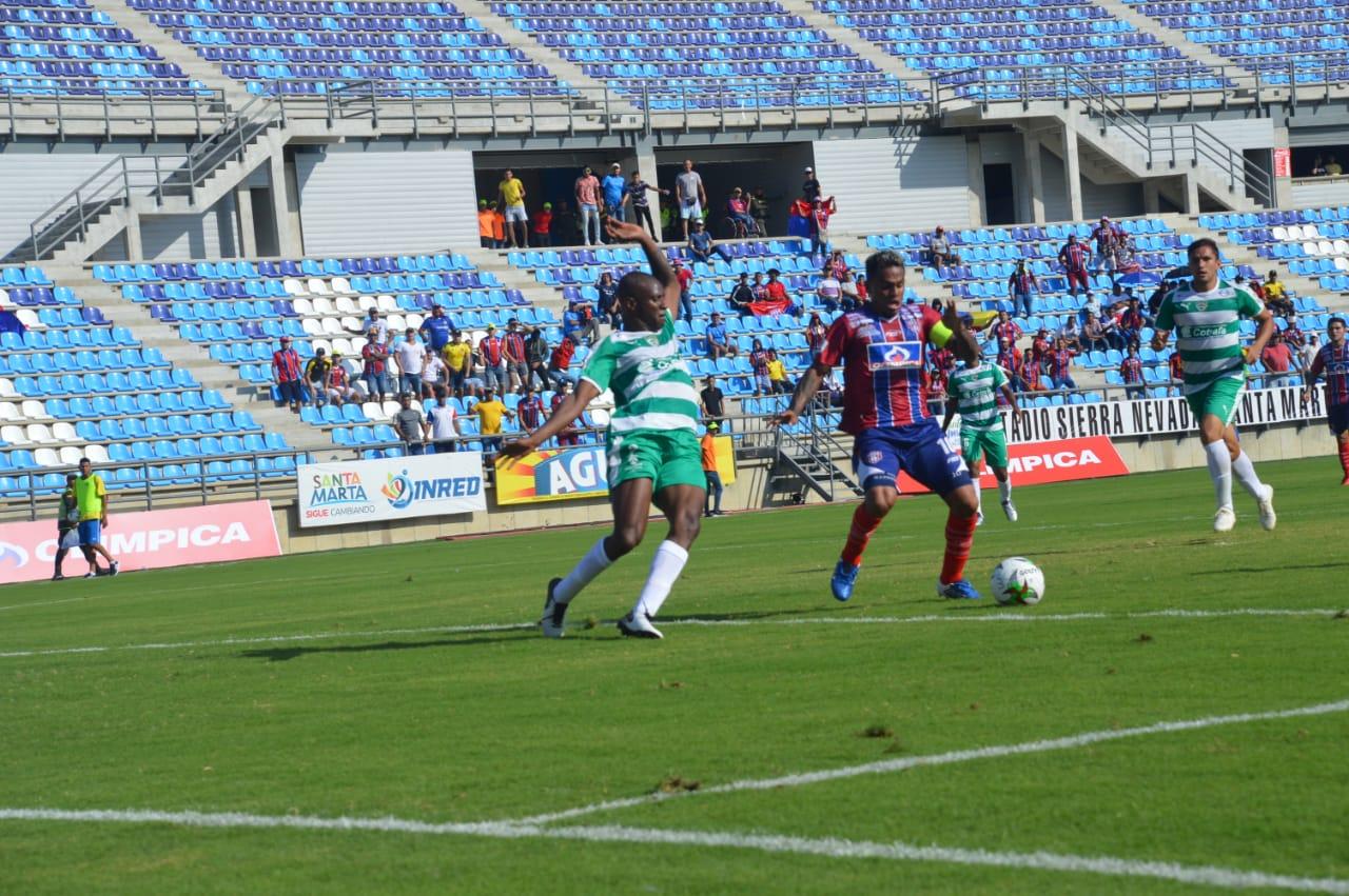 El onceno magdalenense suma tres partidos sin perder en la Liga.