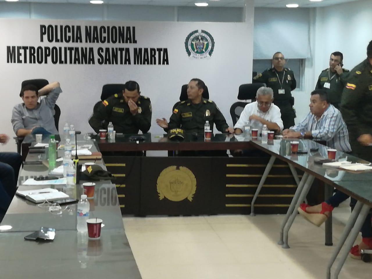 Reunión del Comité Local de Seguridad y Convivencia Ciudadana para el Fútbol.