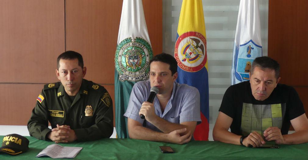 El comandante de la Policía Metropolitana, el secretario de Seguridad del Distrito y el presidente del Unión Magdalena revelaron las medidas que se tomarán.