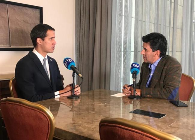 Entrevista a Juan Guaidó por Néstor Morales