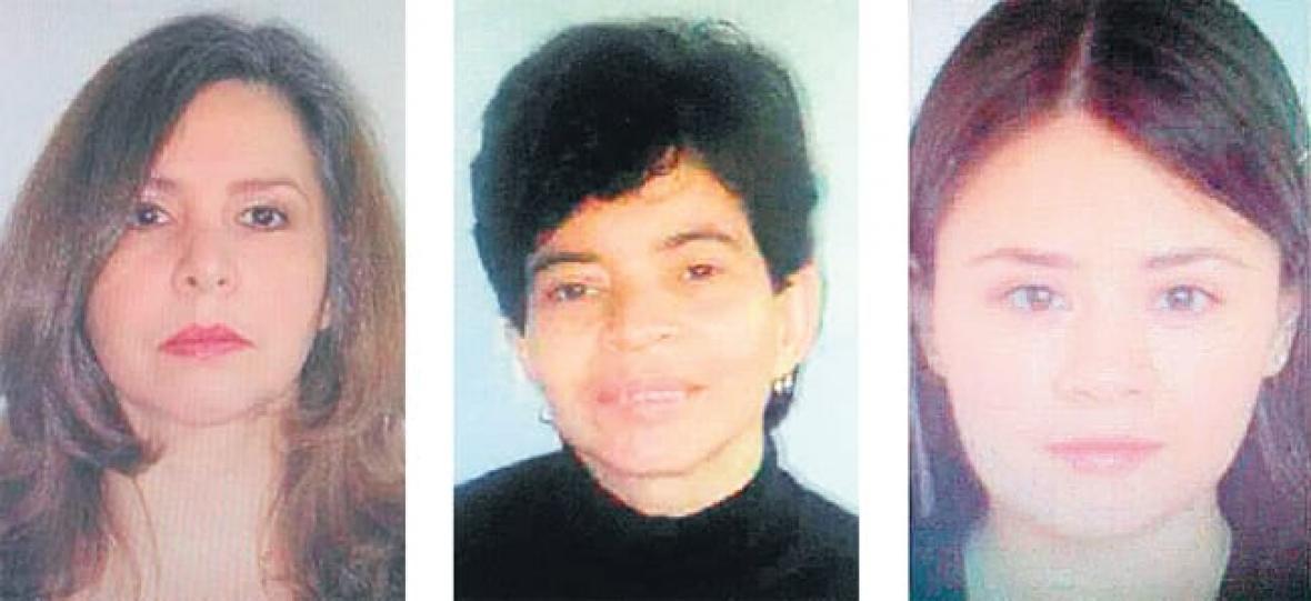 Mujeres asesinadas en El Banco.
