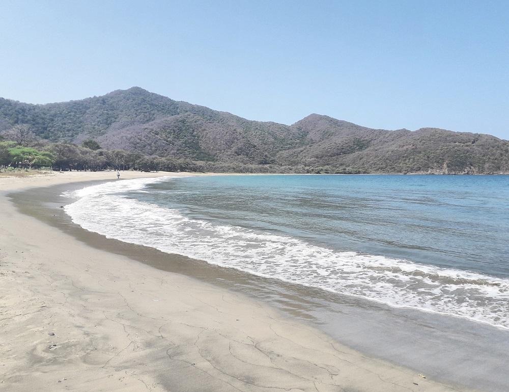 Jornada de limpieza de playas durante el cierre del Parque