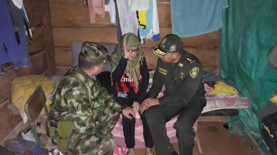 En este lugar estaba cautiva la ganadera Ana Sofía Vargas, de 70 años, por parte de disidencias de las FARC.