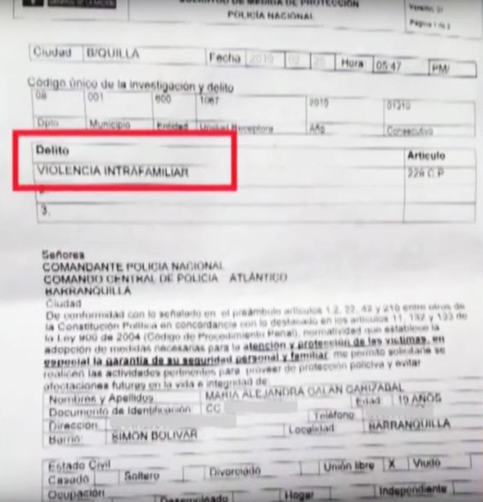 Demanda contra David Gutiérrez.