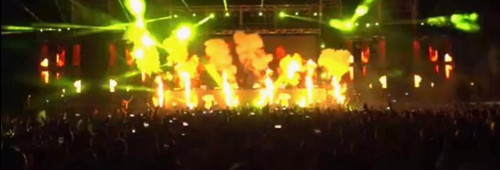 Así se vivió el festival de música electrónica en las playas e Bello Horizonte