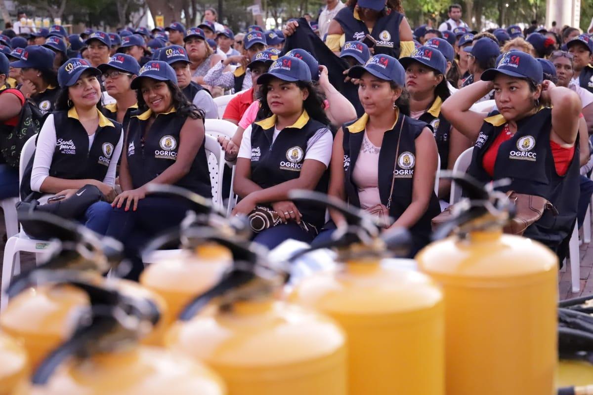 Graduación de voluntarios del Comité Barrial Samario