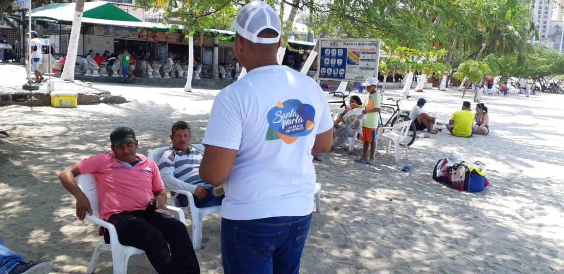 La empresa Edus informa a los samarios sobre intervención de dos camellones de la ciudad