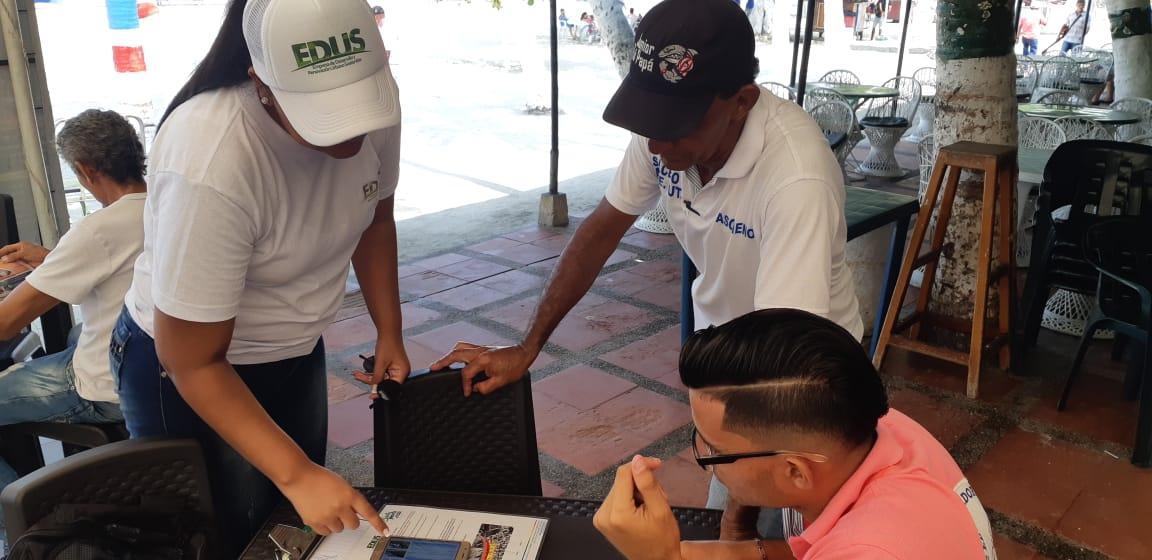 Socializaciones a los habitantes de Santa Marta sobre dos grandes obras
