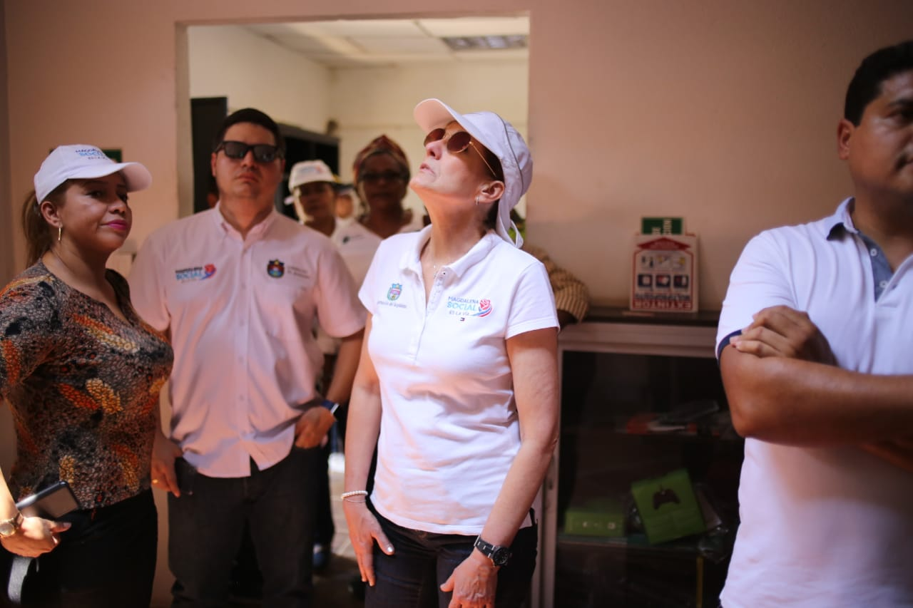 Gobernadora evalua daños y planea resolución de los mismos en Tenerife