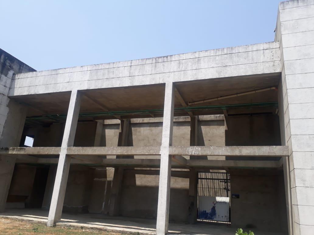 Robo de techo de obra en construcción