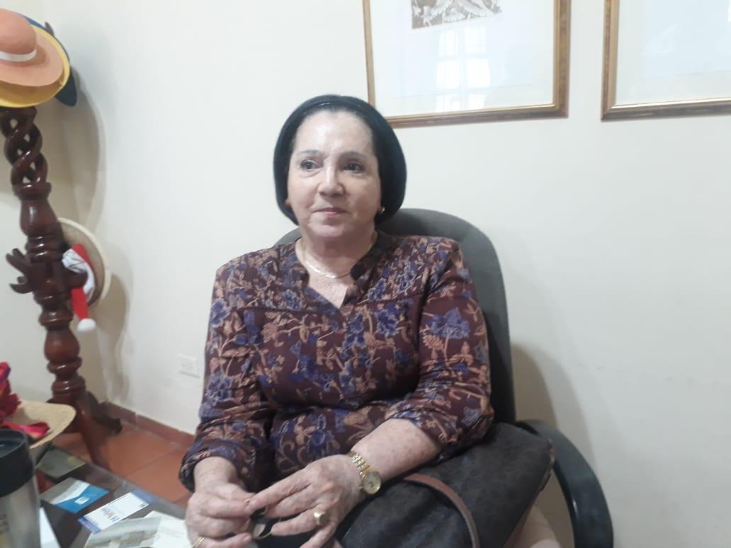 Zarita Abellode Bonilla, Directora del Museo Bolivariano denuncia esta problemática