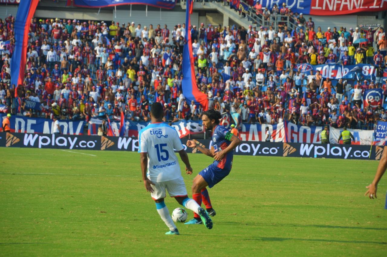 Narváez y Aguilar tuvieron un cruce de palabras en el empate costeño del pasado 17 de marzo.