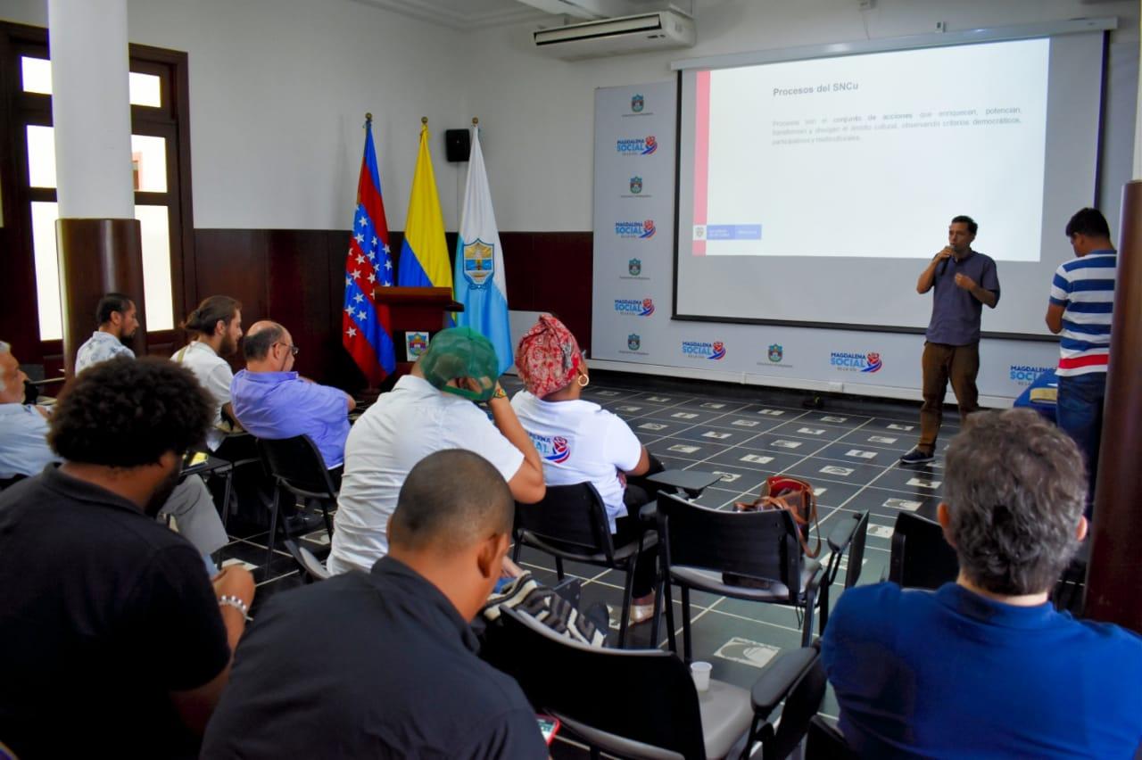 Al final del primer encuentro departamental de cinematografía, se determinó la realización de la primera sesión para este miércoles en el auditorio de la Casa de La Acogida Bahía.