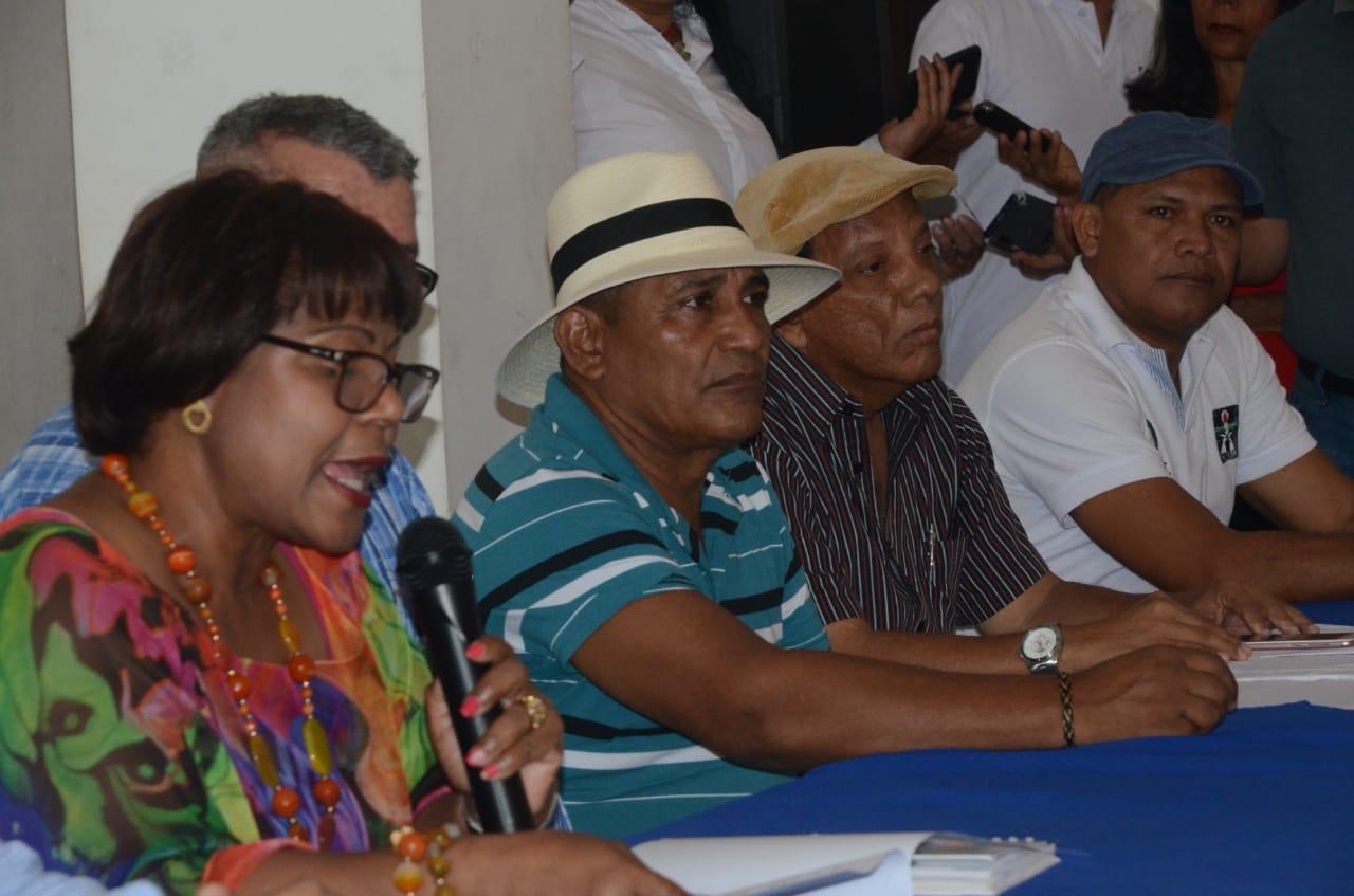 La líder sindical señaló que en el paro participará el comercio, transporte, educación y otros sectores.