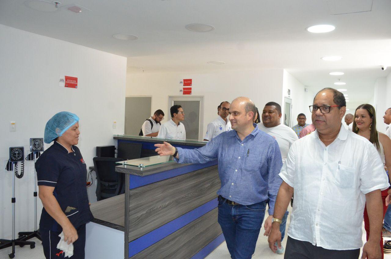 El viceministro de Salud, Iván Darío González, se mostró satisfecho con parte de la red hospitalaria del Distrito.