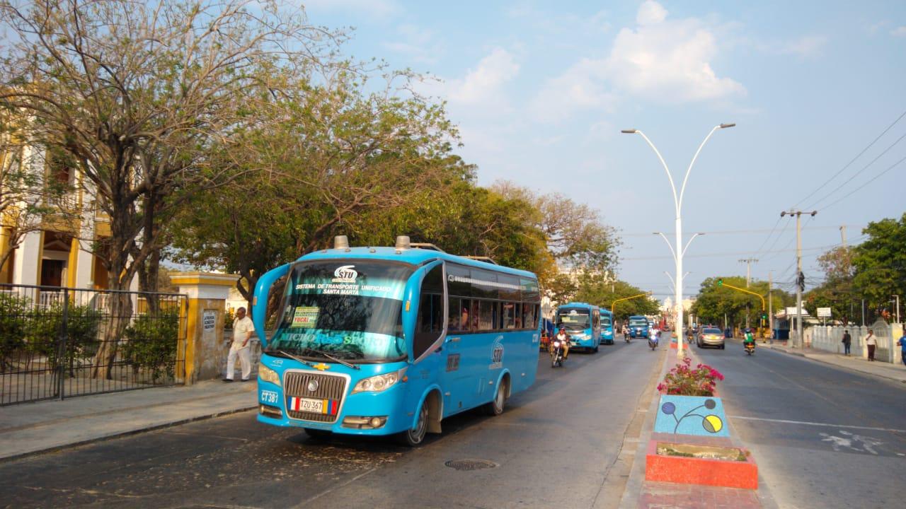 Según el Secretario de Movilidad, hay deficiencia en el servicio de transporte público.