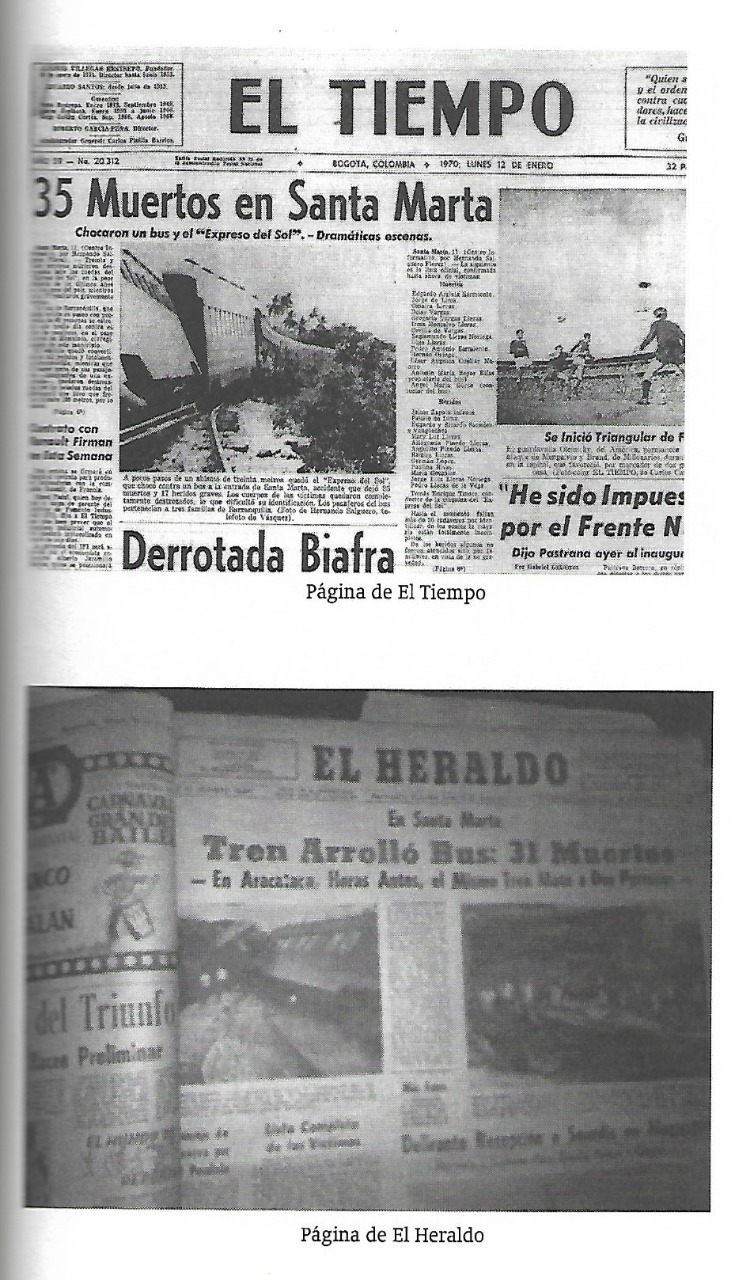 Así registraron El Tiempo y El Heraldo la tragedia ocurrida en Santa Marta el 11 de enero de 1970.