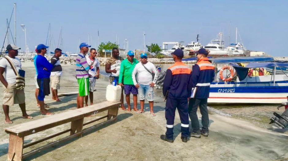 La Dimar socializó la medida con los operadores de turismo.