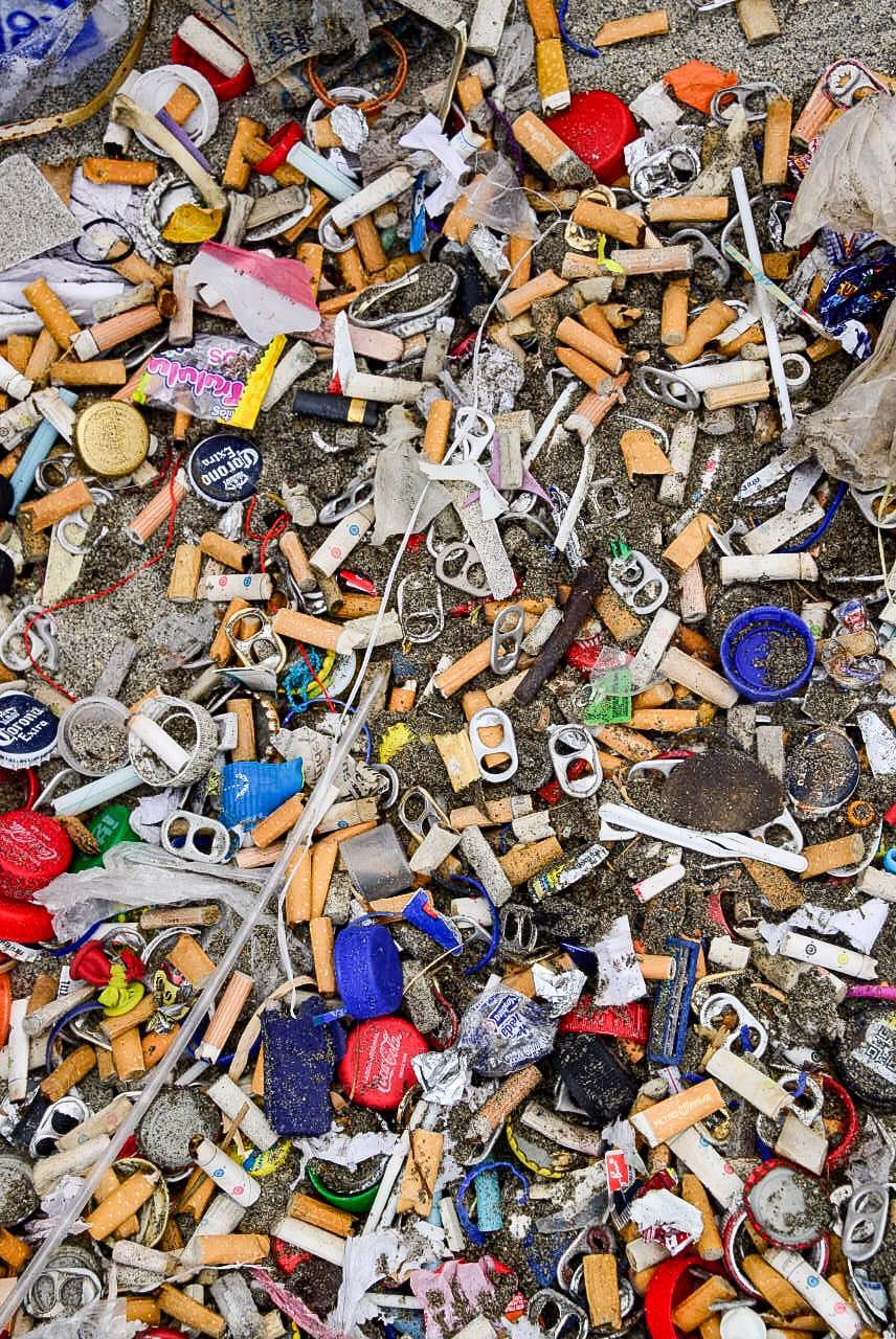 Residuos y desechos recogidos