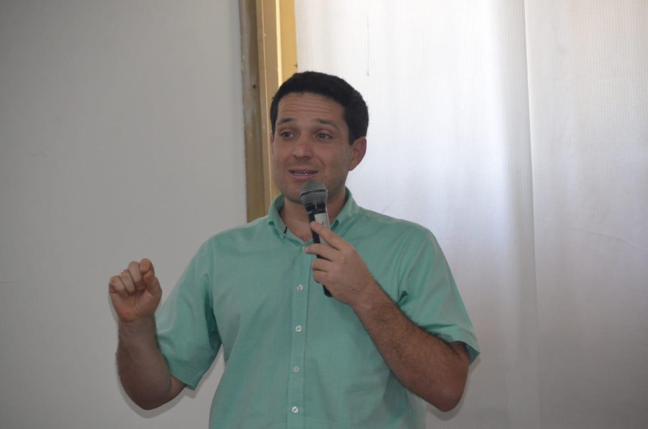 El secretario de Seguridad del Distrito, Camilo George.