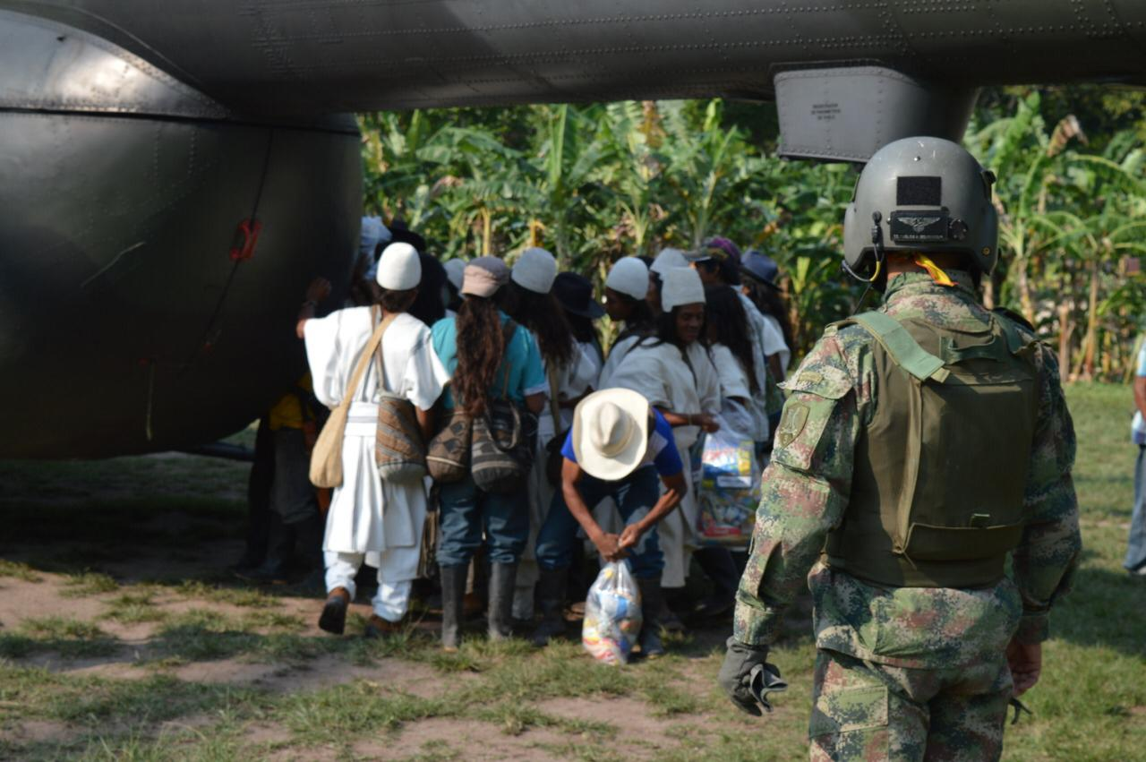 El Ejército Nacional lideró la entrega