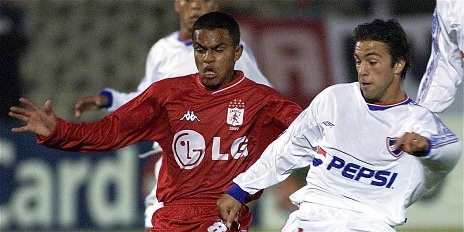 El volante samario debutó en la A con el América y jugó varias copas Libertadores.