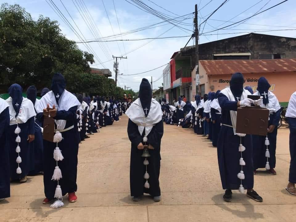 Nazarenos de Guamal.