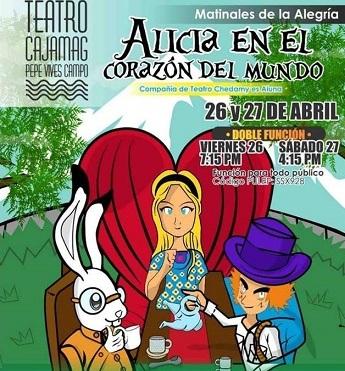 Afiche de invitación al show