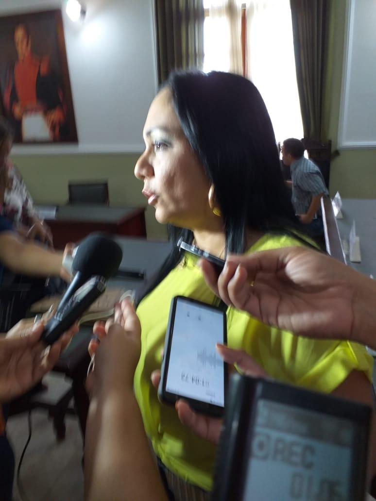 Presidenta de la Asamblea, Claudia Patricia Aarón