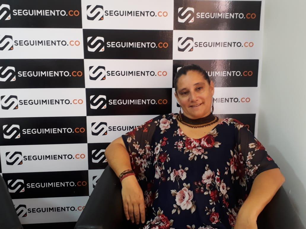 Rossana Collazos, directora de la obra 'Alicia en el corazón del mundo'