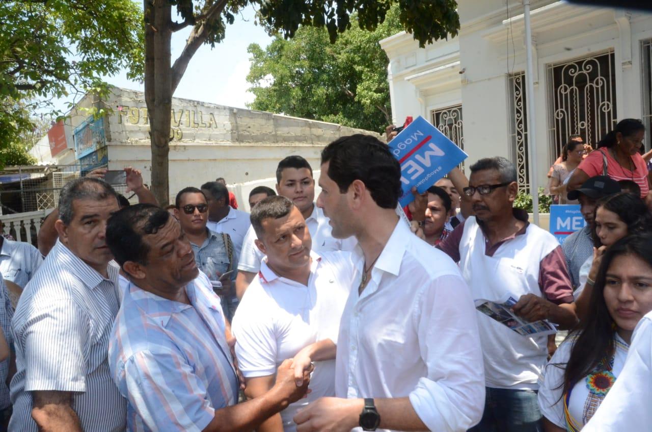 El precandidato señaló que una de las prioridades en su posible gobierno debe ser el tema del agua en Santa Marta.
