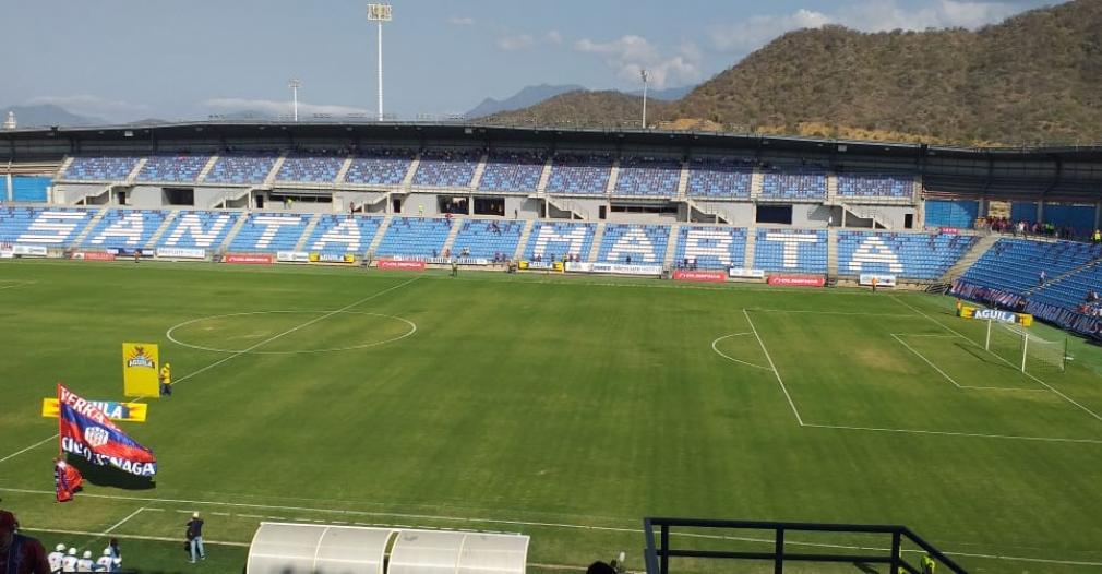 Interior del estadio Sierra Nevada.