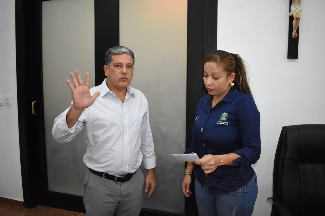 Rafael Castañeda, nuevo director de tránsito departamental.