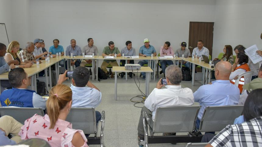 Aspecto de la audiencia especializada que se llevó a cabo ayer en Barranquilla